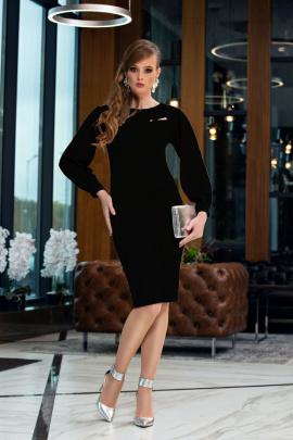 Платье Diva 1357-3 черный