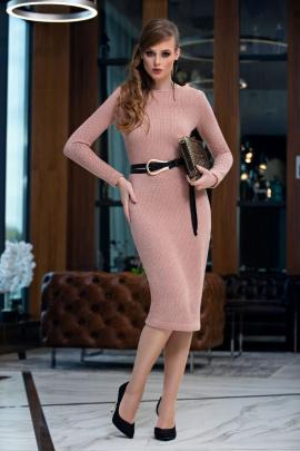 Платье Diva 1358-1 розовый