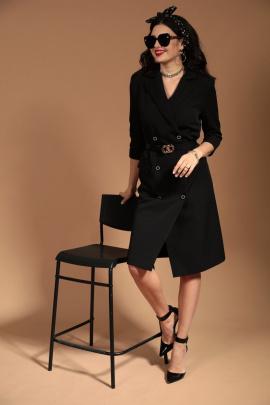 Платье Твой имидж 1454 черный