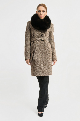 Пальто Gotti 115-4м коричневая