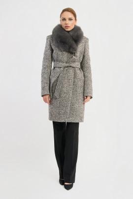 Пальто Gotti 115-5м серая