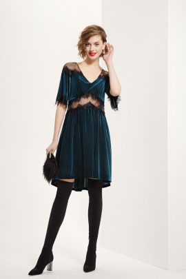 Платье Prestige 3586/170 зелёный