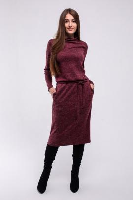 Платье Madech 185309 бордовый