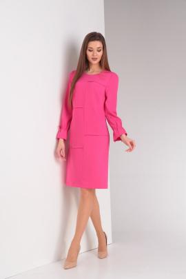 Платье Basagor 445а темно-розовый