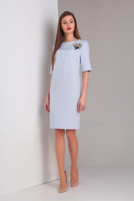 Платье Basagor 447 голубой