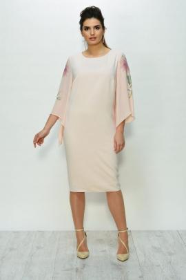 Платье Faufilure outlet С826 розовый