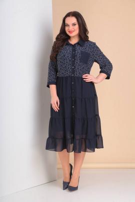 Платье Moda Versal П1976 т.синий