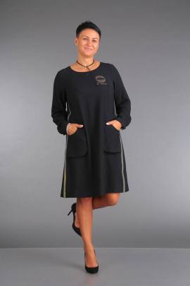 Платье ZigzagStyle 271 черный