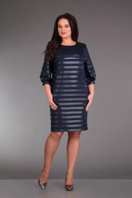 Платье ZigzagStyle 224 синий
