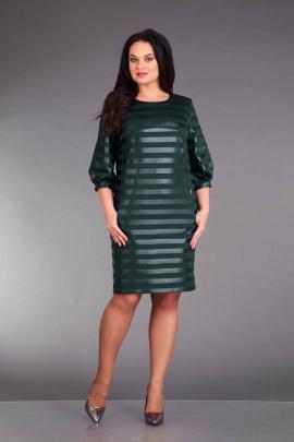 Платье ZigzagStyle 224 зеленый