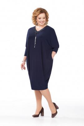 Платье Pretty 847 т.синий