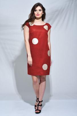 Платье Faufilure outlet C137 красный