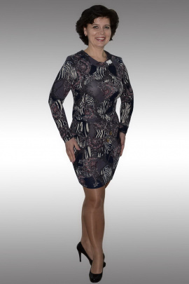 Платье Таир-Гранд 62158 баклажан