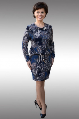 Платье Таир-Гранд 62158 джинс