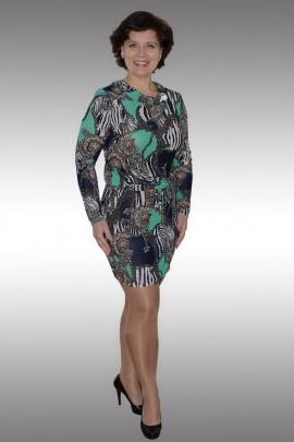 Платье Таир-Гранд 62158 зеленый