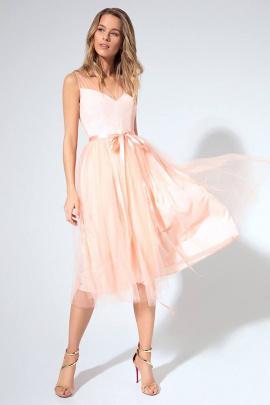Платье LaVeLa L1839 персик