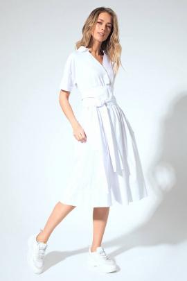 Платье LaVeLa L1927 белый