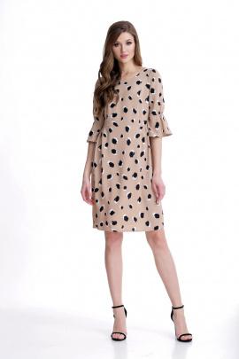 Платье Мишель стиль 766 беж