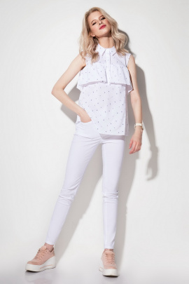 Блуза Prio 177240 белый