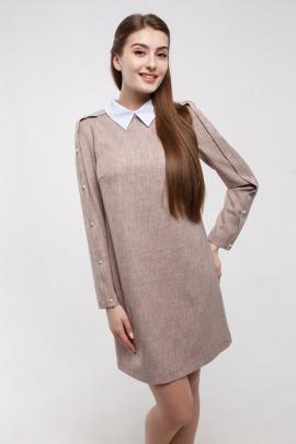 Платье Madech 195315 светло-коричневый