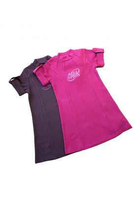 Платье Юнона 6130 темно-фиолетовый