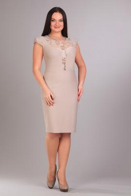 Платье IVA 701 бежевый
