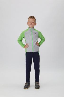 Спортивный костюм GuliGuli С-41м фисташка,синий