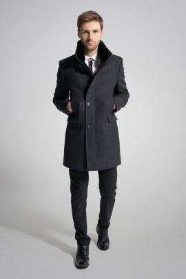 Пальто Gotti 059-2м темно-серый