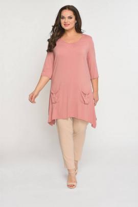 Комплект Luana Plus 101 розовый/беж