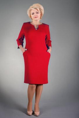 Платье Manklover 684 красный
