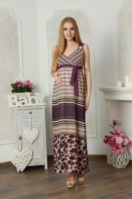 Платье Lucky mum 1127 фиолет