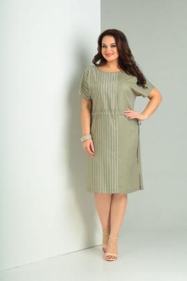 Платье Basagor 541 хаки