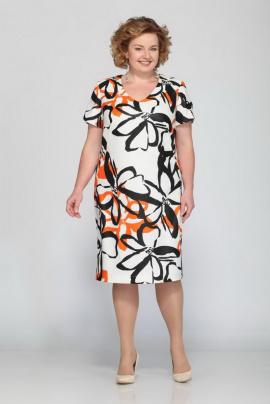 Платье Djerza 1372 оранж
