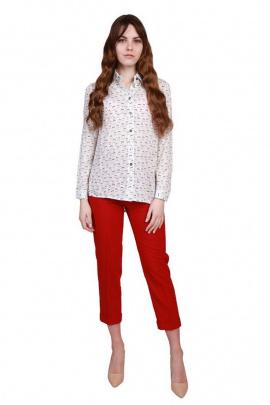 Брюки BELAN textile 1346 красный