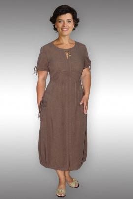 Платье Таир-Гранд 6513 коричневый