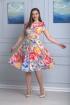 Платье Anelli 298 серый_фон
