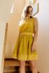 Платье Nova Line 5894 горчица