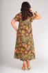 Платье Andrea Style 00150 зеленый_огурец
