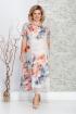 Платье Ивелта плюс 1644 крупные_цветы