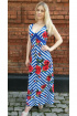 Платье Tensi 158 сине-бел.полоска