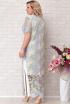 Платье Aira Style 687 голубой+желтый