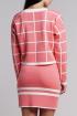 Юбка Nat Max ЮБ-0035 розовый+белый