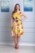 Платье Anelli 298 желтый