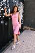Платье Rawwwr clothing 076 розовый