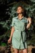 Платье Lady Smile 1001-39 зеленый