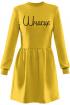 Платье Rawwwr clothing 009.117 желтый
