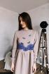Платье Rawwwr clothing 009.209 пудра
