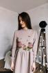 Платье Rawwwr clothing 009.174 пудра
