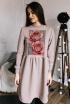 Платье Rawwwr clothing 009.314 пудра