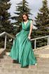 Платье Lady Smile 1017-2 изумруд